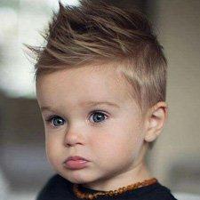 Corte de cabello para bebes hombres