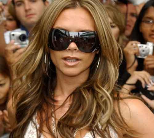 Cortes de Pelo Victoria Beckham en el año 2005