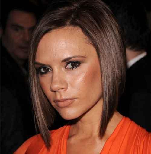 Cortes de Pelo Victoria Beckham en el año 2008